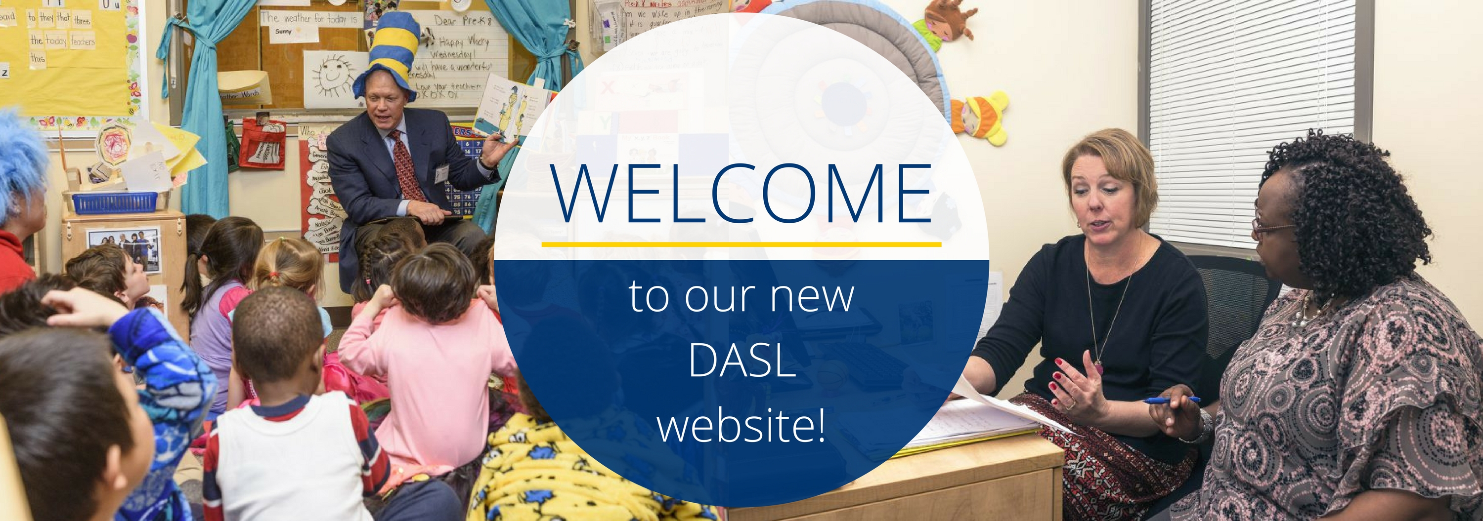 Welcome to new DASL website