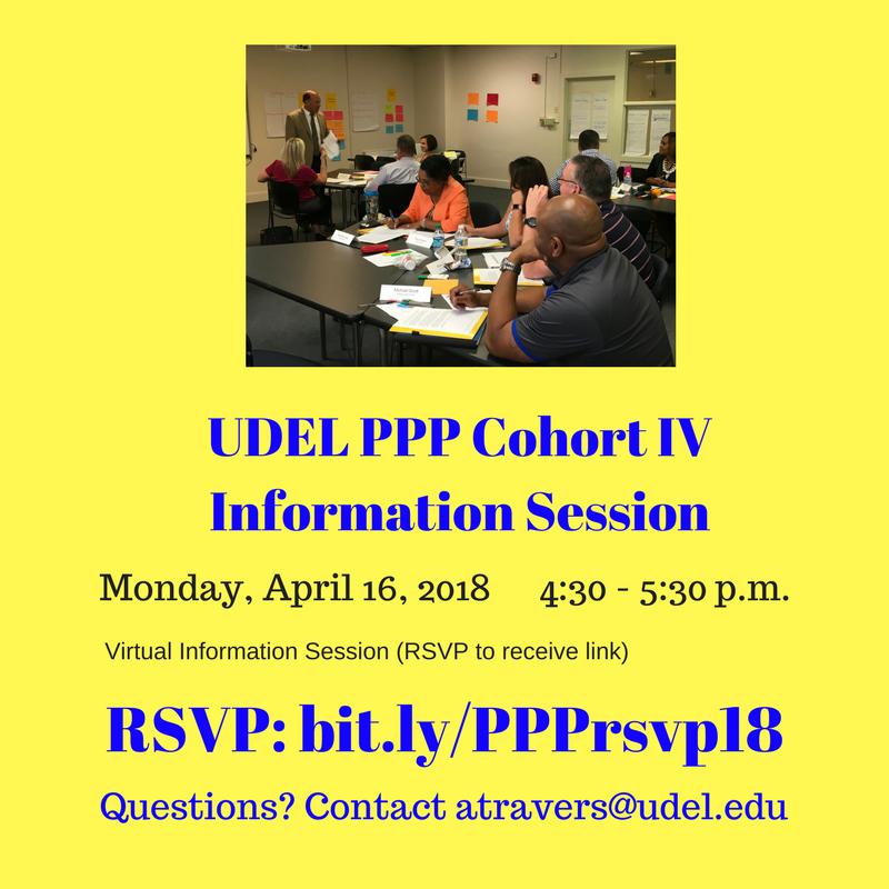 UDEL PPP Information Sessions Cohort IV
